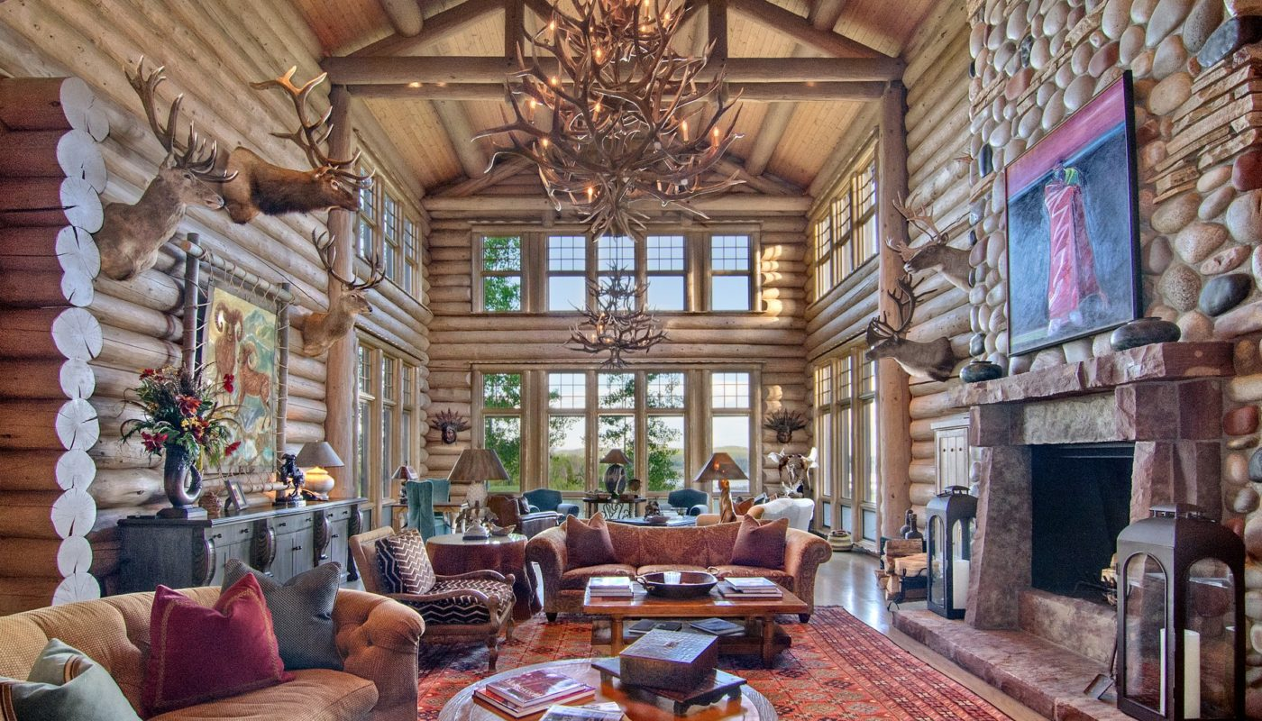 Snowy Mountain Ranch Great Room