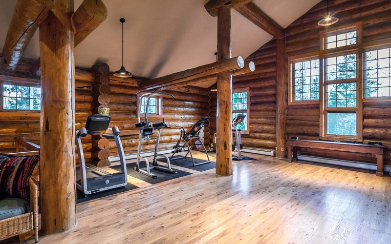 Upstairs Exercise Room